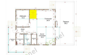 Проект дома 156,1 м.кв.