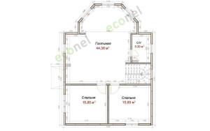 Проект дома 162,2 м.кв.