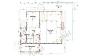 Проект дома 188,1 м.кв.