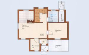 Проект дома 112,4 м.кв.