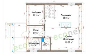 Проект дома 128,2 м.кв.