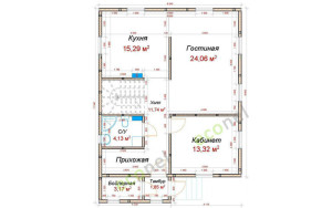 Проект дома 140,9 м.кв.