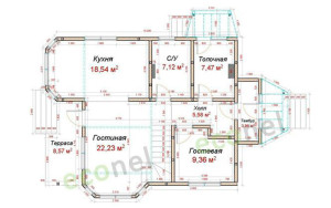 Проект дома 144,1 м.кв.