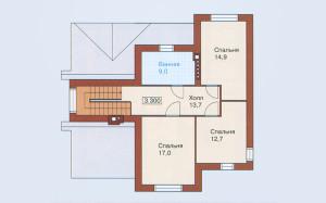 Проект дома 156,8 м.кв.