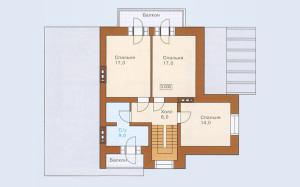 Проект дома 159,5 м.кв. с гаражом