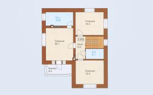 Проект дома 171,2 м.кв.