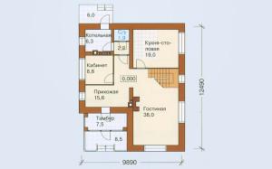 Проект дома 184,7 м.кв.