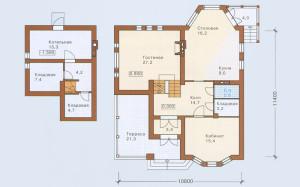 Проект дома 189,4 м.кв.
