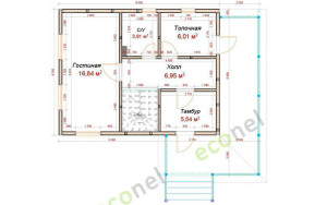Проект дома 79,2 м.кв.