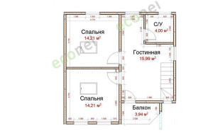 Проект дома 101,0 м.кв.