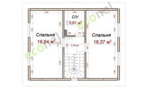 Проект дома 79,1 м.кв.